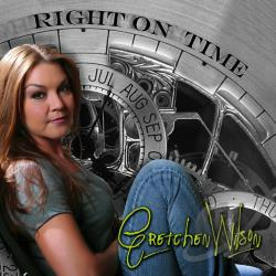 Wilson, Gretchen - Right on Time CD Cover Art