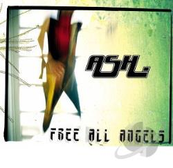 Ash - Free All Angels CD Cover Art