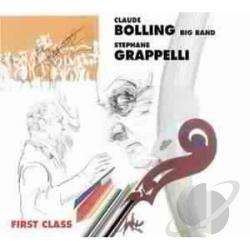 Bolling, Claude - First Class CD Cover Art