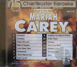 Carey, Mariah - Pro Artist: Mariah Carey 1990-1993 Karaoke CD Cover Art