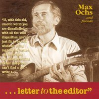 Ochs, Max - Letter to the Editor CD Cover Art