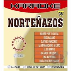 Los Huracanes Del Norte Y Rieleros - Nortenazos CD Cover Art