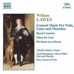 Heringman / Lawes / Miller / Roberts - William Lawes: Consort Music for Viols, Lutes & Theorbos CD Cover Art