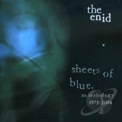 Enid - Sheets of Blue: An Anthology CD Cover Art