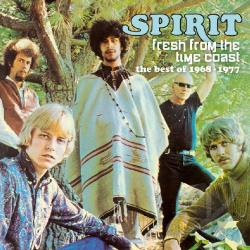 Spirit - Fresh from the Time Coast: The Best of 1968-1977 CD Cover Art