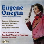 Bolshoi Theater Choir & Orchestra / Tchaikovsky - Pyotr Ilyich Tchaikovsky: Eugene Onegin CD Cover Art