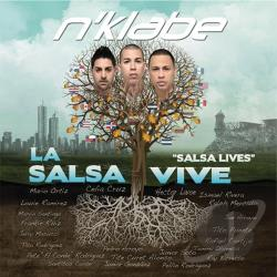 N'Klabe - La Salsa Vive CD Cover Art
