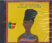 Vaughan, Sarah - Essential Sarah Vaughan: The Great Songs CD Cover Art