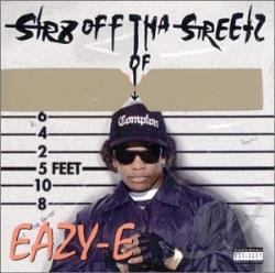 Eazy-E - Str8 Off tha Streetz of Muthaphu**in Compton CD Cover Art