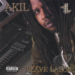 Akil - Slave Labor CD Cover Art