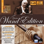Stravinsky / Wand - Gunter Wand Edition, Vol. 9 CD Cover Art