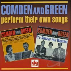 Comden, Betty / Original Soundtrack - Perform Their Own Songs CD Cover Art