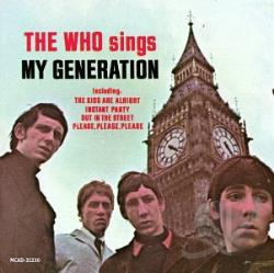 Who - Who Sings My Generation CD Cover Art