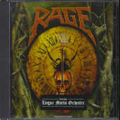 Rage/Lingua Mortis Orch - Xiii CD Cover Art