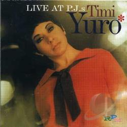 Yuro, Timi - Live at PJ's CD Cover Art