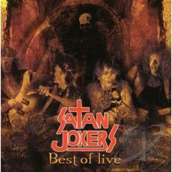 Satan Jokers - Best of Satan Jokers Live CD Cover Art