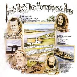 Baker, Duck / Dan Ar Bras / Dave Evans (Guitar) / Graham, Davy - Irish Reels, Jigs, Airs and Hornpipes CD Cover Art