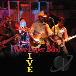 Wes Loper Band - Live CD Cover Art