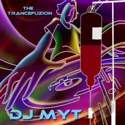 DJ Myt - Trancefuzion CD Cover Art