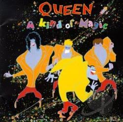Queen - Kind of Magic CD Cover Art