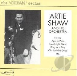 Shaw, Artie - Artie Shaw & His Orchestra CD Cover Art