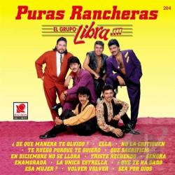 El Grupo Libra - Puras Rancheras CD Cover Art