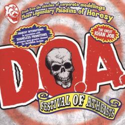 D.O.A. - Festival of Atheists LP Cover Art
