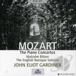 Bilson / Ebs / Gardiner / Mozart - Mozart: The Piano Concertos CD Cover Art