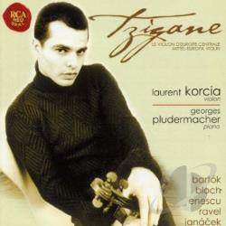 Korcia, Laurent - Tzigane: Musique d' Europe Central CD Cover Art