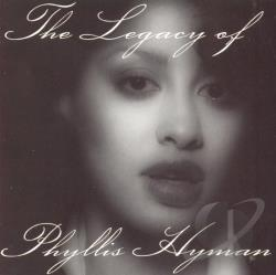 Hyman, Phyllis - Legacy of Phyllis Hyman CD Cover Art