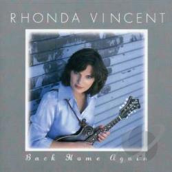 Vincent, Rhonda - Back Home Again CD Cover Art
