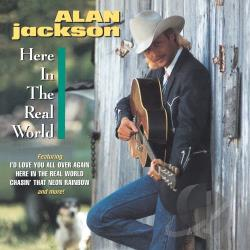 Jackson, Alan - Here in the Real World CD Cover Art