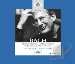 Bach / Ebs / Gardiner / Mvc - Bach: Sacred Vocal Works CD Cover Art