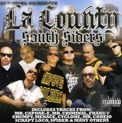 L.A. County South Siders / Various Artists - Hi Power Presents LA County Southsider's CD Cover Art