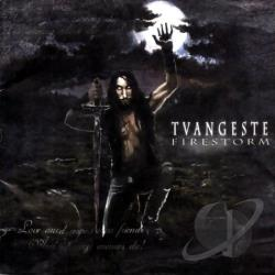 Tvangeste - Firestorm CD Cover Art