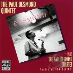 Paul Desmond Quintet - Paul Desmond Quintet Plus the Paul Desmond Quartet CD Cover Art