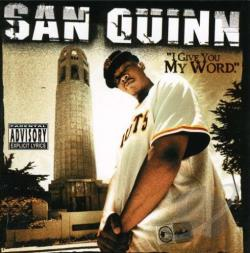Quinn, San - I Give You My Word CD Cover Art