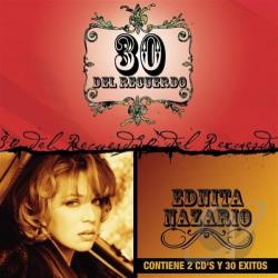 Nazario, Ednita - 30 del Recuerdo CD Cover Art
