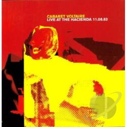 Cabaret Voltaire - Live At The Hacienda LP Cover Art