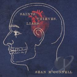Sean McConnell - Saints Thieves & Liars CD Cover Art