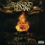 Burning Human - Resurrection Through Fire CD Cover Art