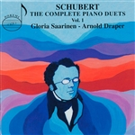 Saarinen, G & Draper - Schubert: The Piano Duets CD Cover Art