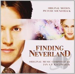 Kaczmarek, Jan A.P. - Finding Neverland CD Cover Art