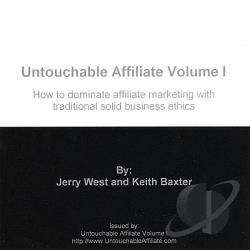 Baxter / West - Vol. 1 - Untouchable Affiliate CD Cover Art