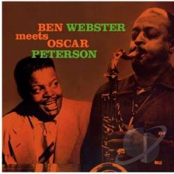 Peterson, Oscar / Webster, Ben - Ben Webster Meets Oscar Peterson LP Cover Art