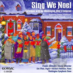 Washington Men's Camerata - Sing We Noel CD Cover Art