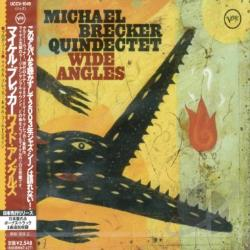 Brecker, Michael - Wide Angels CD Cover Art