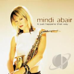 Abair, Mindi - It Just Happens That Way CD Cover Art