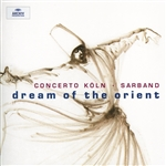 Concerto Koln - Dream Of The Orient CD Cover Art