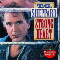 Sheppard, T.G. - Strong Heart CD Cover Art